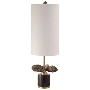 Uttermost Lamps Sterculia Antique Gold Champagne Lamp