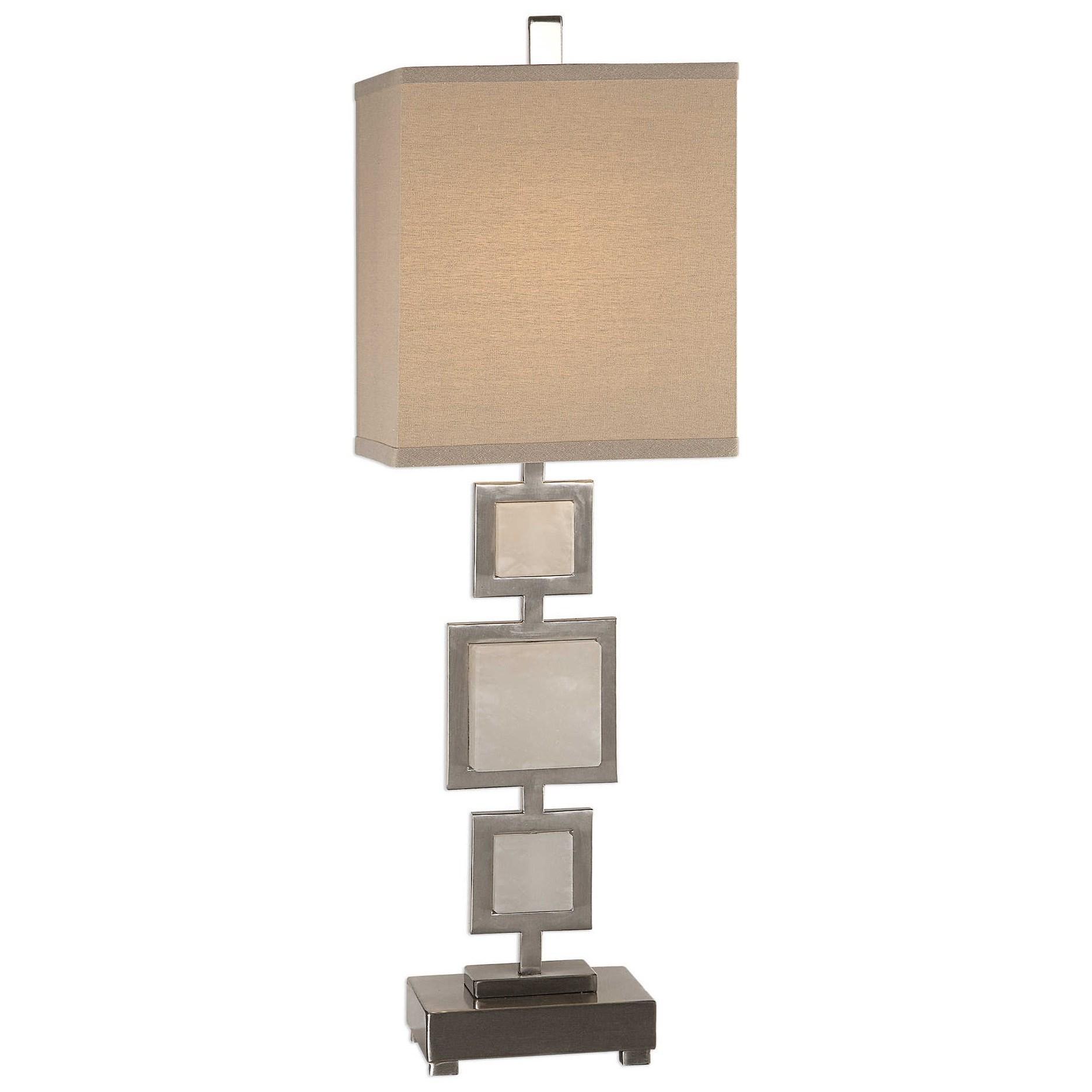 Idalgo Brushed Nickel Lamp