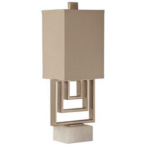 Medora Brushed Nickel Lamp