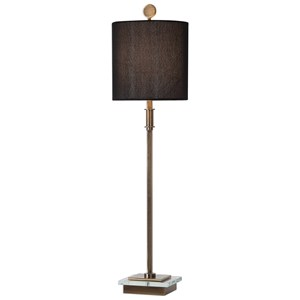 Volante Antique Brass Table Lamp