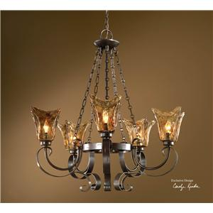 Uttermost Lighting Fixtures Vetraio 5-Light Chandelier