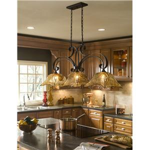 Uttermost Lighting Fixtures Vetraio 3-Light Kitchen Island