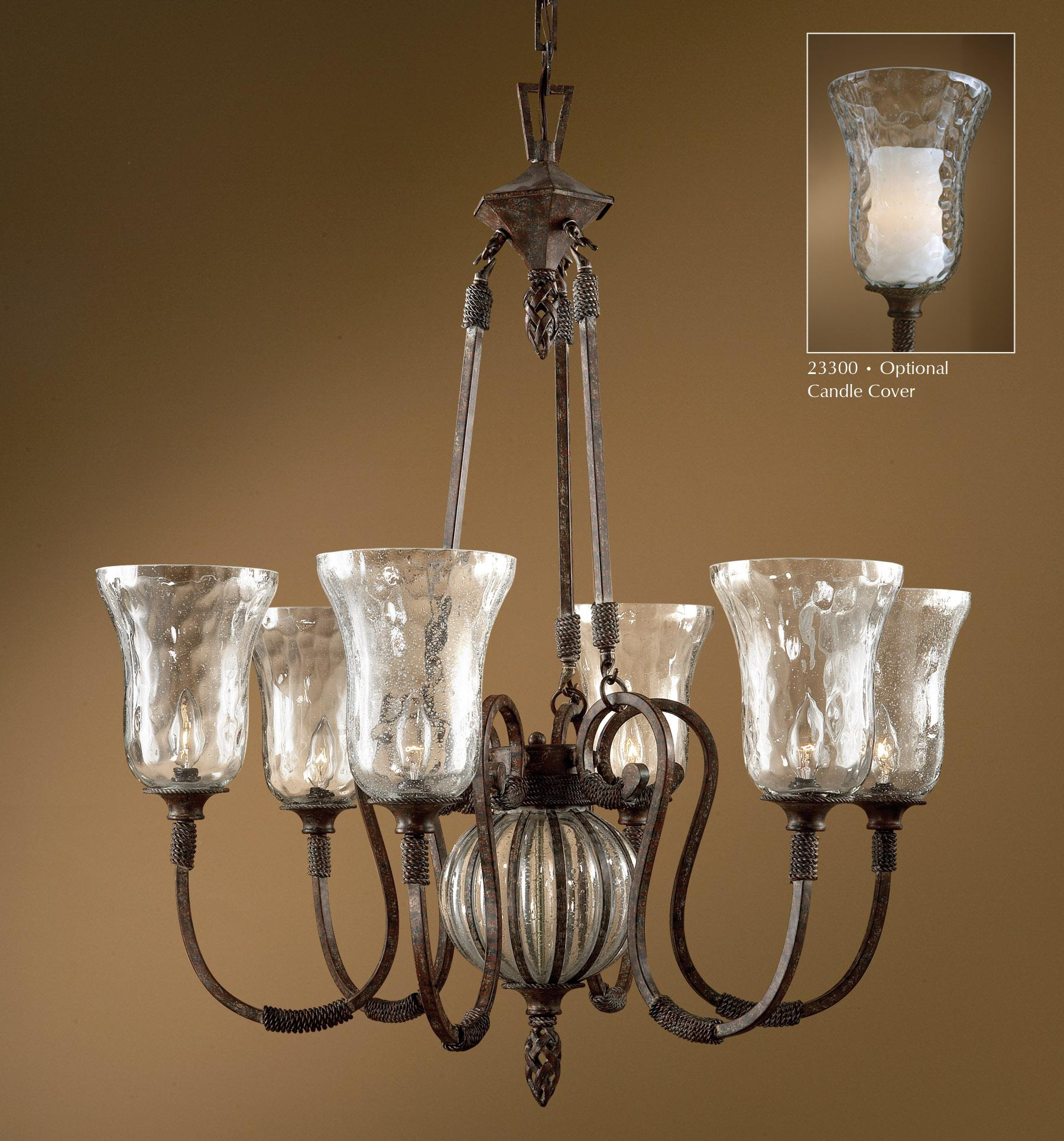 Uttermost Lighting Fixtures Galeana 6-Light Chandelier - Item Number: 21045
