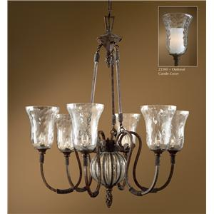 Uttermost Lighting Fixtures Galeana 6-Light Chandelier