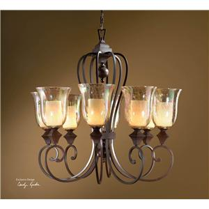 Uttermost Lighting Fixtures Elba 8-Light Chandelier