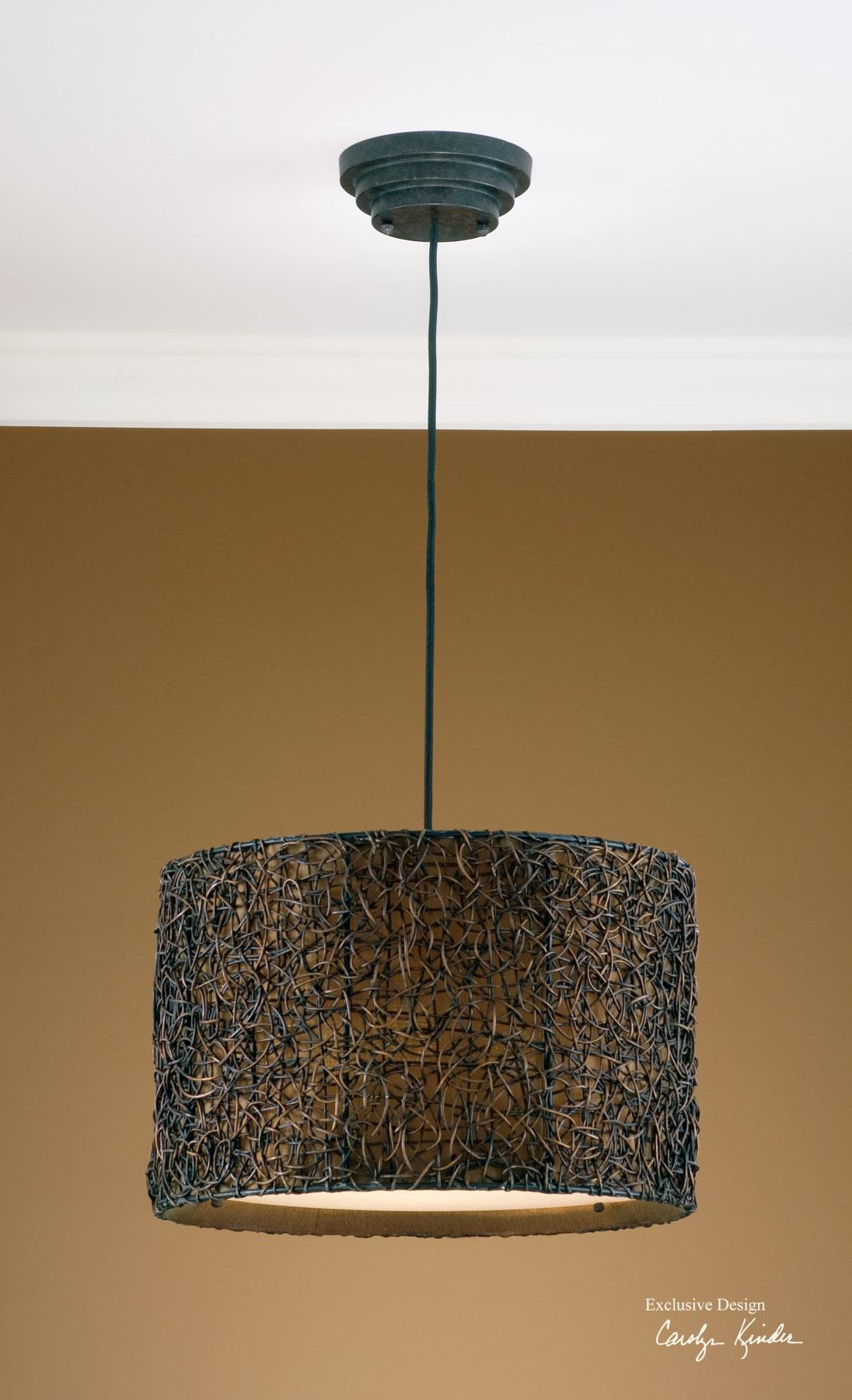 Uttermost Lighting Fixtures Knotted Rattan Hanging Shade - Item Number: 21103