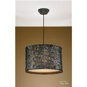 Uttermost Lighting Fixtures Alita Metal Hanging Shade