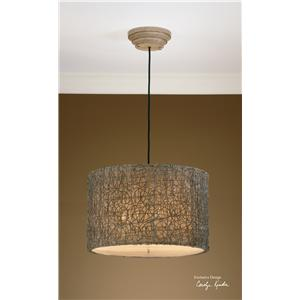 Uttermost Lighting Fixtures Knotted Rattan Light Hanging Shade