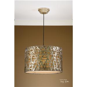 Uttermost Lighting Fixtures Alita Champagne Metal Hanging Shade