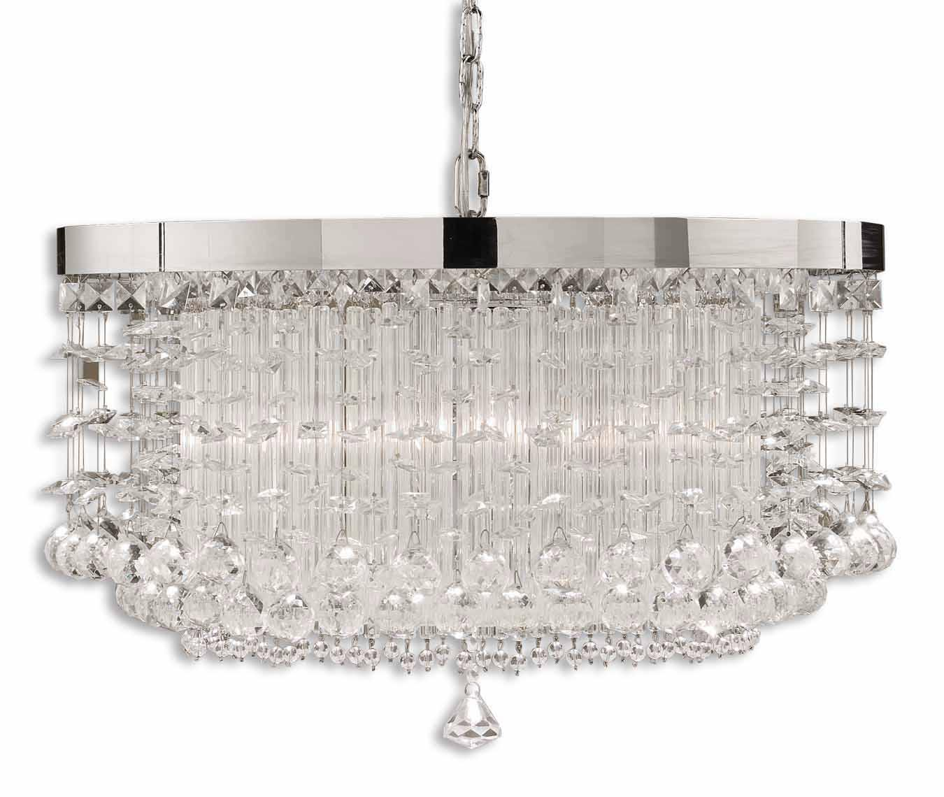 Uttermost Lighting Fixtures Fascination 3 Light Chandelier - Item Number: 21138
