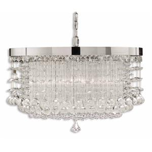 Uttermost Lighting Fixtures Fascination 3 Light Chandelier