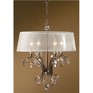 Uttermost Lighting Fixtures Alenya 4 Light Chandelier