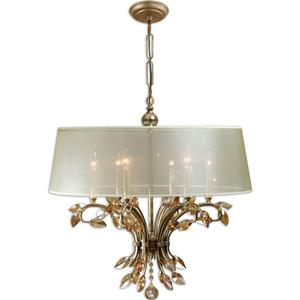 Uttermost Lighting Fixtures Alenya 6 Light Chandelier