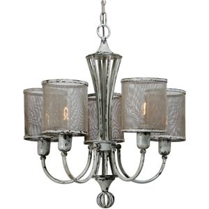 Uttermost Lighting Fixtures Uttermost Pontoise 5 Light Vintage Chandelie