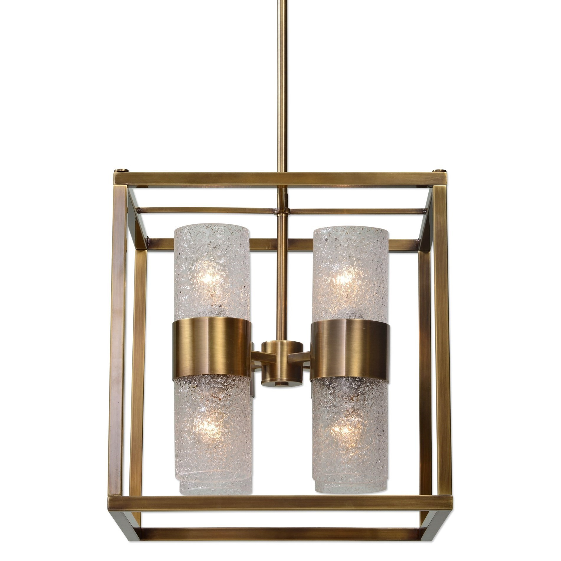Uttermost Lighting Fixtures Marinot 8 Light Cube Pendant - Item Number: 21282