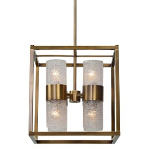 Uttermost Lighting Fixtures Marinot 8 Light Cube Pendant