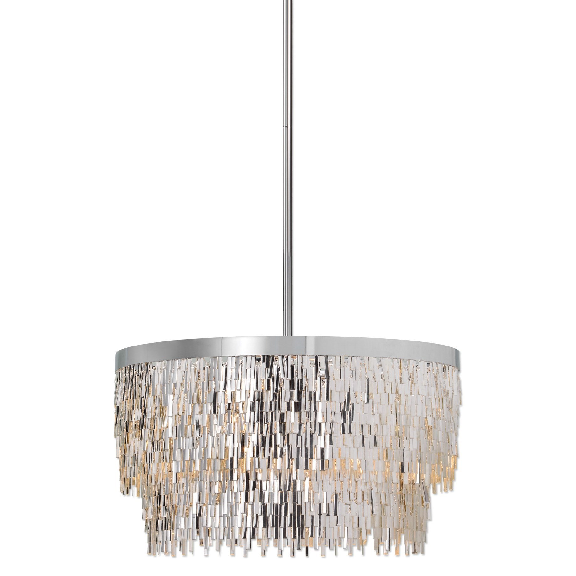 Uttermost Lighting Fixtures Millie 6 Light Chrome Pendant - Item Number: 21283