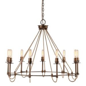 Uttermost Lighting Fixtures Lyndhurst Industrial 9 Light Chand