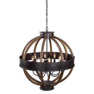 Bowdon 8 Light Orb Pendant