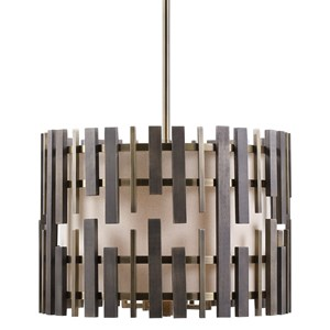 Myers 4 Light Drum Pendant