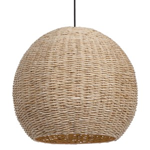 Seagrass 1 Light Dome Pendant