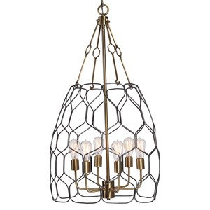 Halstead 6 Light Farmhouse Pendant