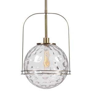 Mimas 1 Light Globe Pendant