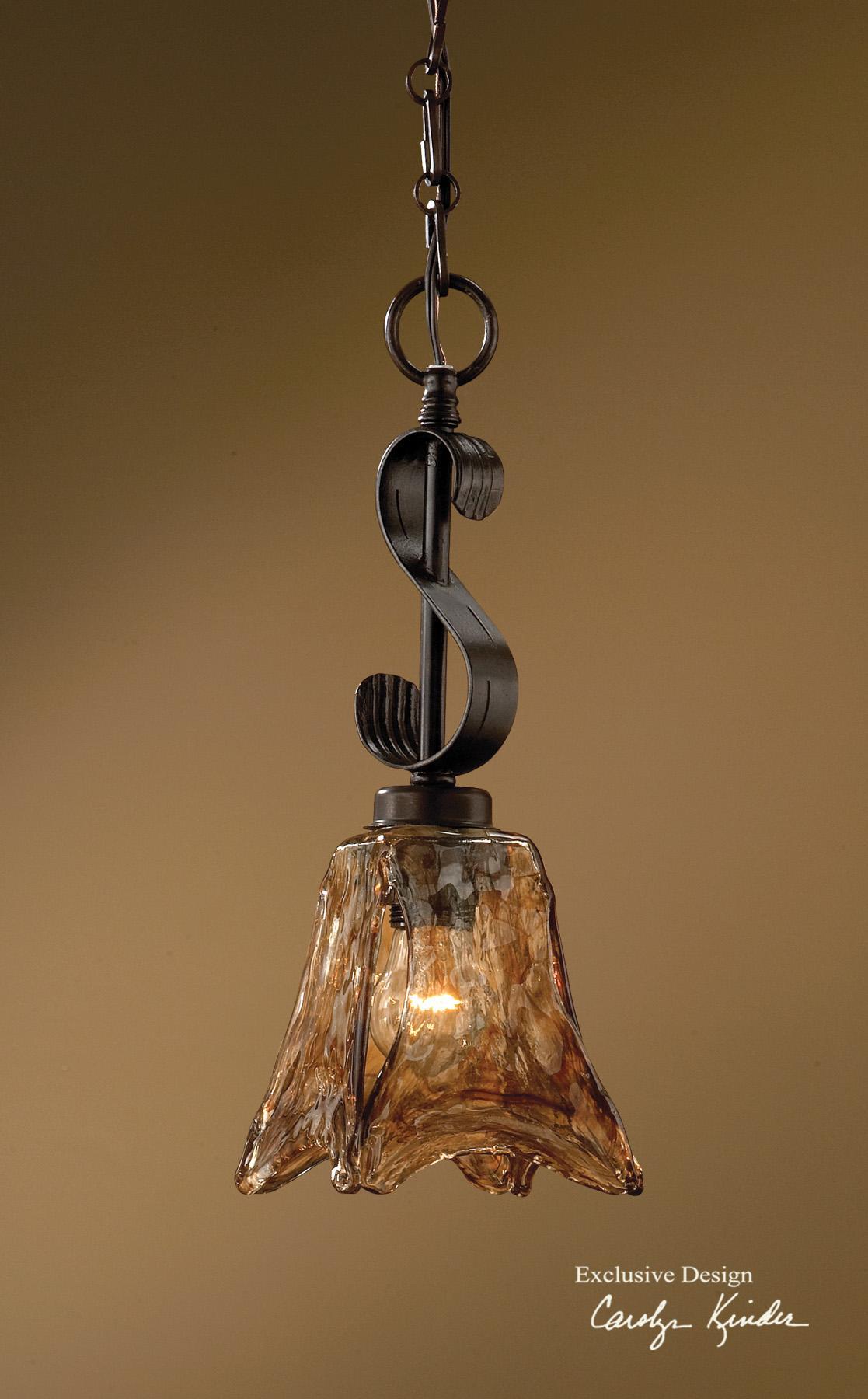 Uttermost Lighting Fixtures Vetraio Mini Pendant - Item Number: 21801