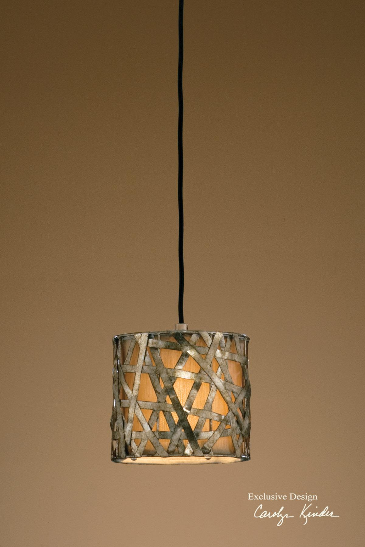 Uttermost Lighting Fixtures Alita Champagne Mini Metal Hanging Shade - Item Number: 21839