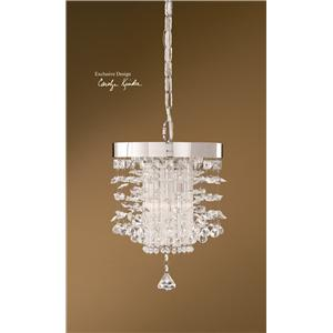 Uttermost Lighting Fixtures Fascination Crystal Mini Pendant