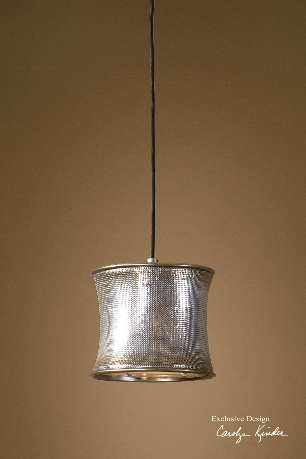 Uttermost Lighting Fixtures Marcel Champagne Mini Pendant - Item Number: 21850