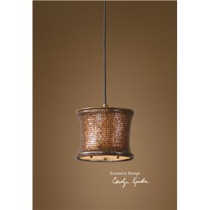 Uttermost Lighting Fixtures Marcel Copper Mini Pendant