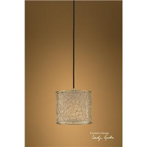 Brandon Silver 1 Light Mini Hanging Shade