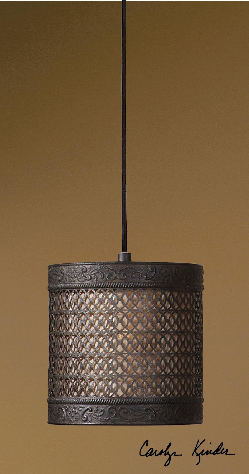 Uttermost Lighting Fixtures New Orleans 1 Light Mini Hanging Shade - Item Number: 21890