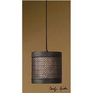 Uttermost Lighting Fixtures New Orleans 1 Light Mini Hanging Shade