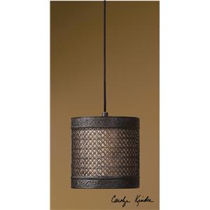 Uttermost Lighting Fixtures New Orleans 1 Light Mini Hanging Shade