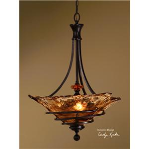Uttermost Lighting Fixtures Vitalia 3 Light Pendant