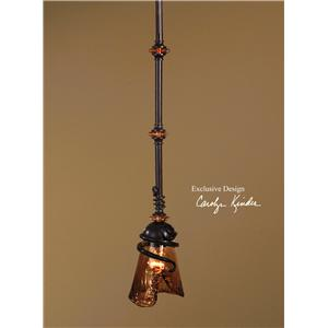 Uttermost Lighting Fixtures Vitalia 1 Light Mini Pendant