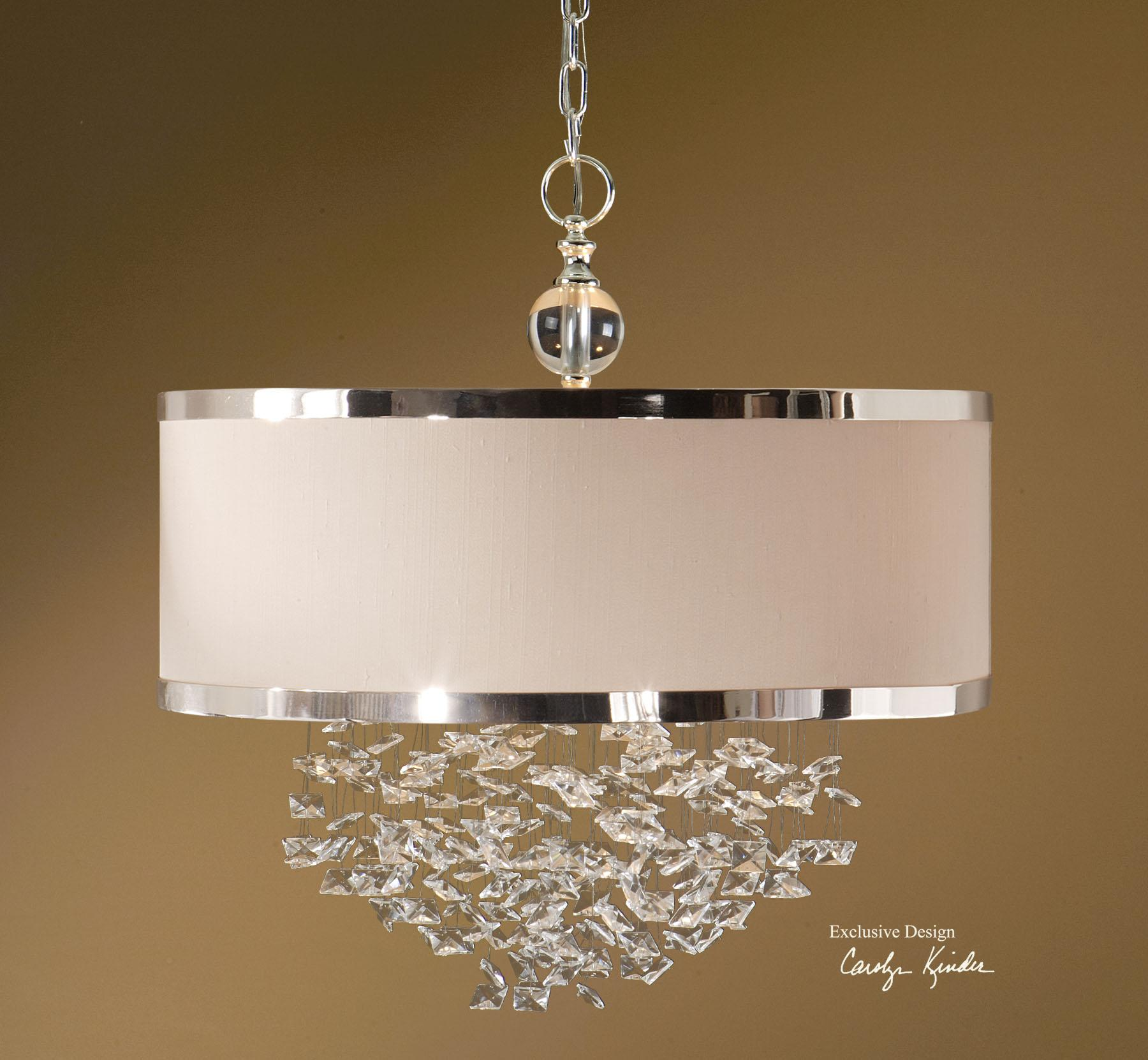 Uttermost Lighting Fixtures Fascination 3 Light Hanging Shade - Item Number: 21908