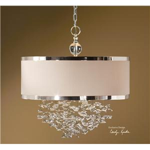Uttermost Lighting Fixtures Fascination 3 Light Hanging Shade