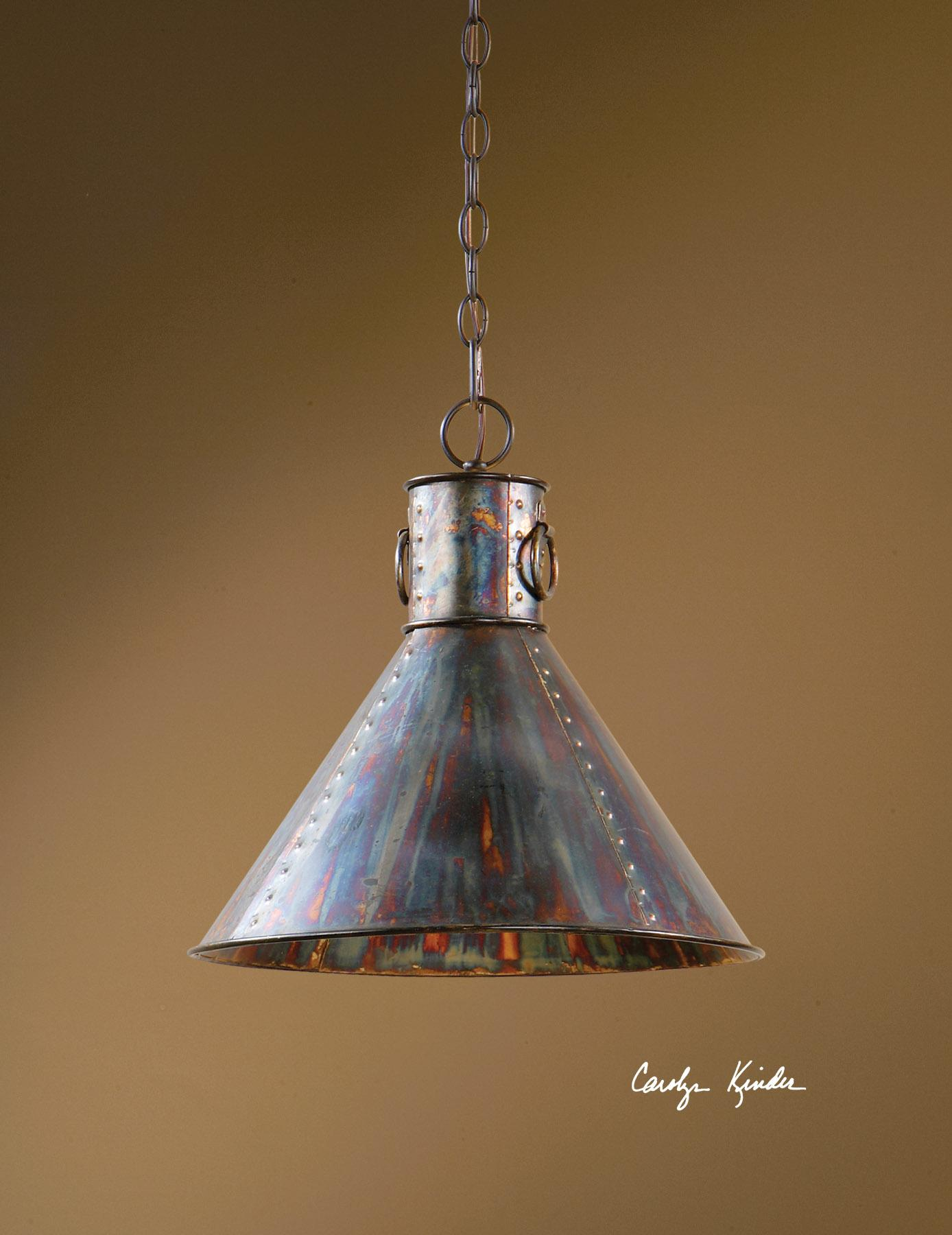 Uttermost Lighting Fixtures Levone 1 Light Pendant - Item Number: 21923