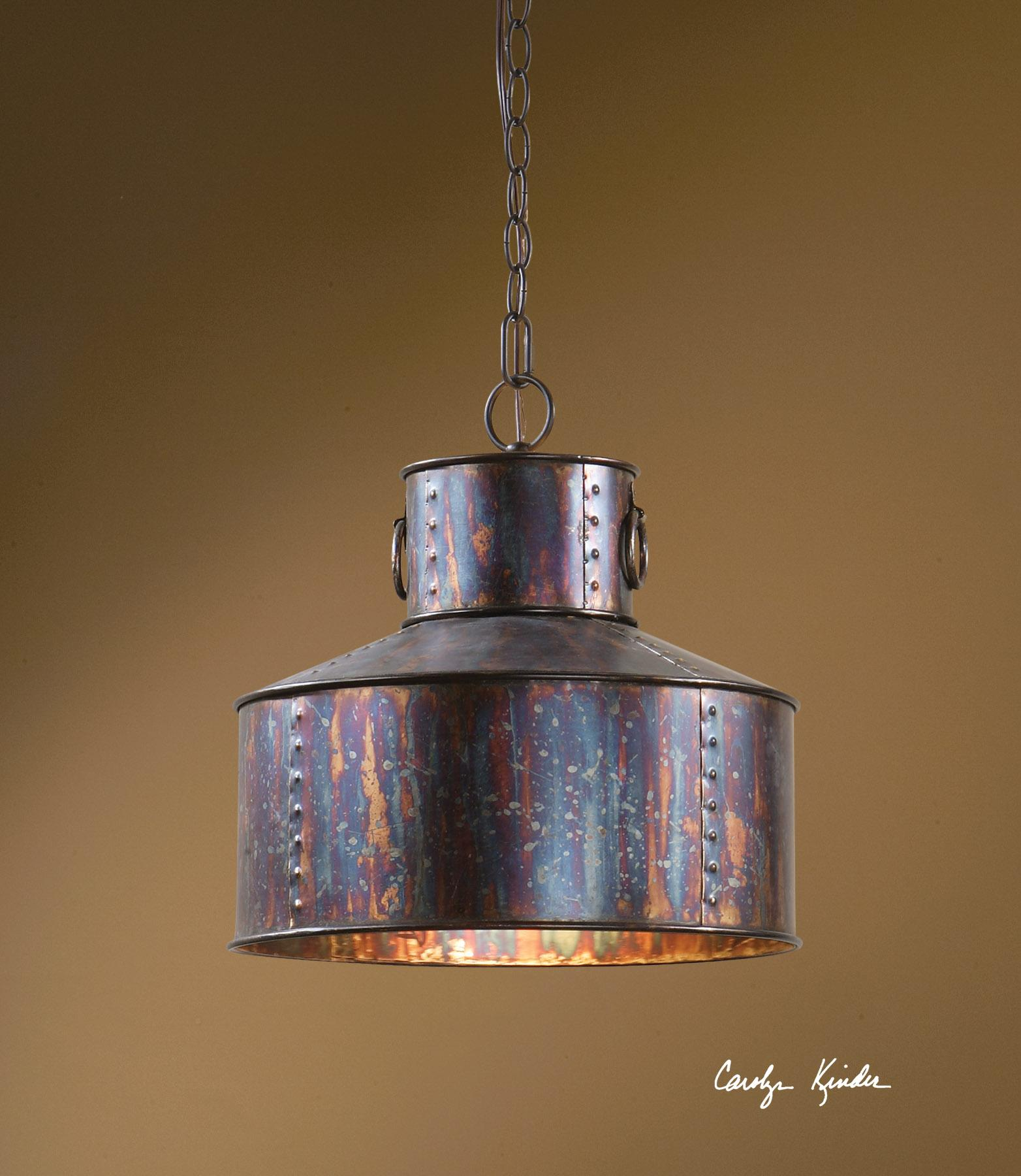Uttermost Lighting Fixtures Giaveno 1 Light Pendant - Item Number: 21924