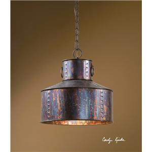 Uttermost Lighting Fixtures Giaveno 1 Light Pendant