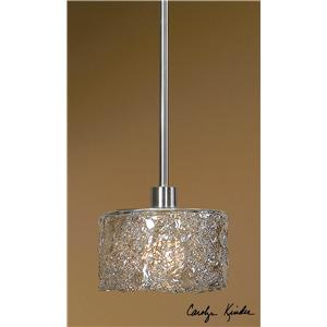 Uttermost Lighting Fixtures Terumi 1 Light Mini Pendant