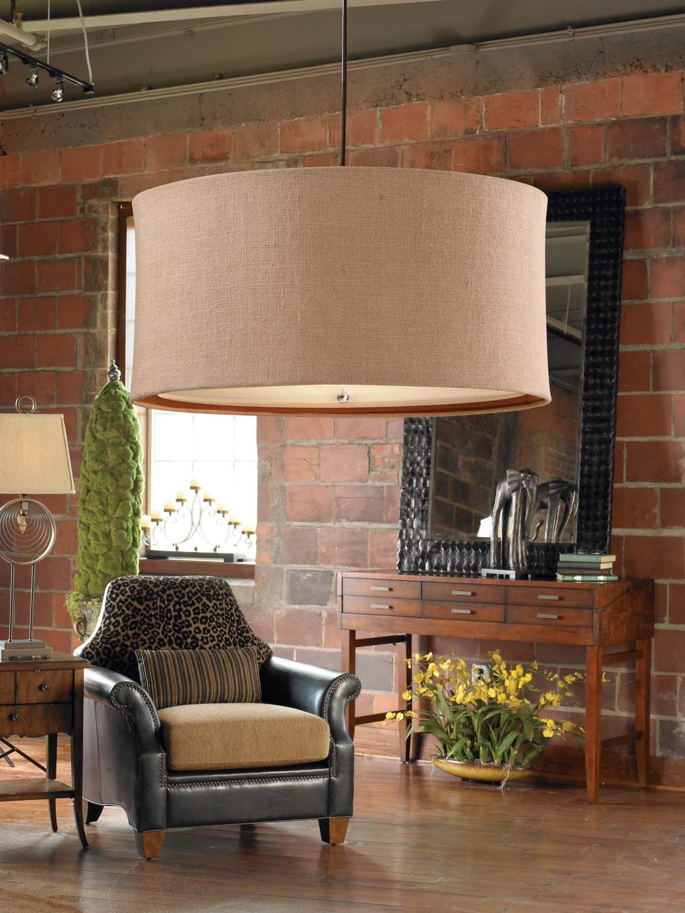 Uttermost Lighting Fixtures Alamo 3 Light Hanging Shade - Item Number: 21932