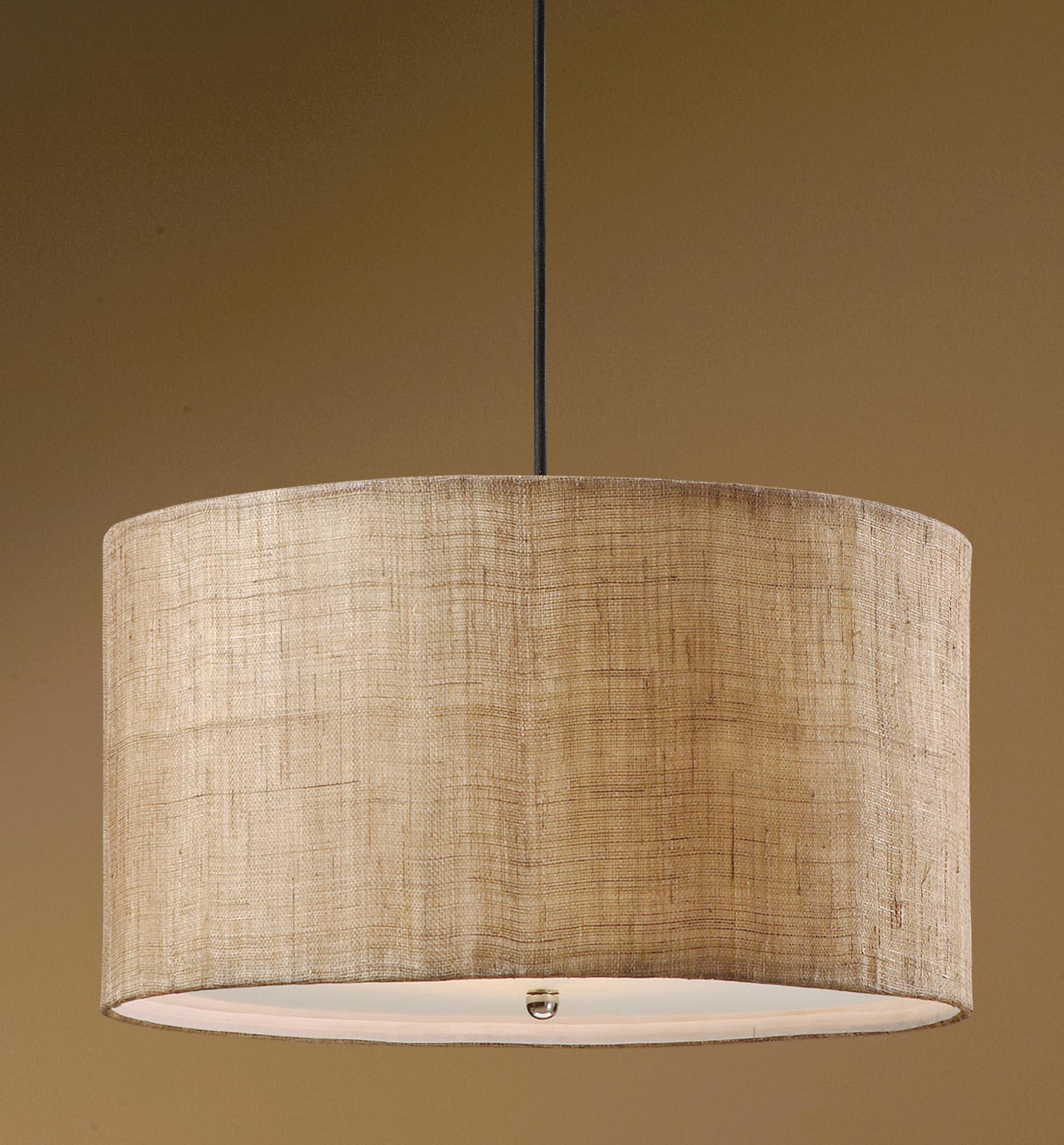 Uttermost Lighting Fixtures Dafina 3 Light Hanging Shade - Item Number: 21933
