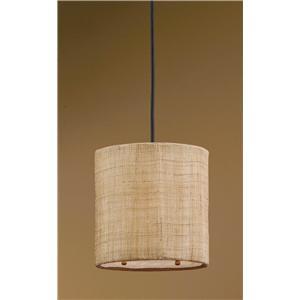 Uttermost Lighting Fixtures Dafina 1 Light Mini Hanging Shade
