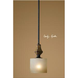 Uttermost Lighting Fixtures Porano 1 Light Mini Pendant