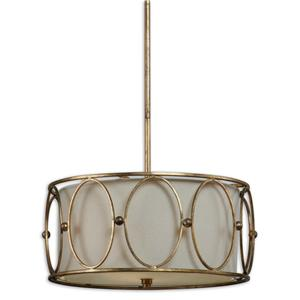 Uttermost Lighting Fixtures Ovala 3 Light Pendant