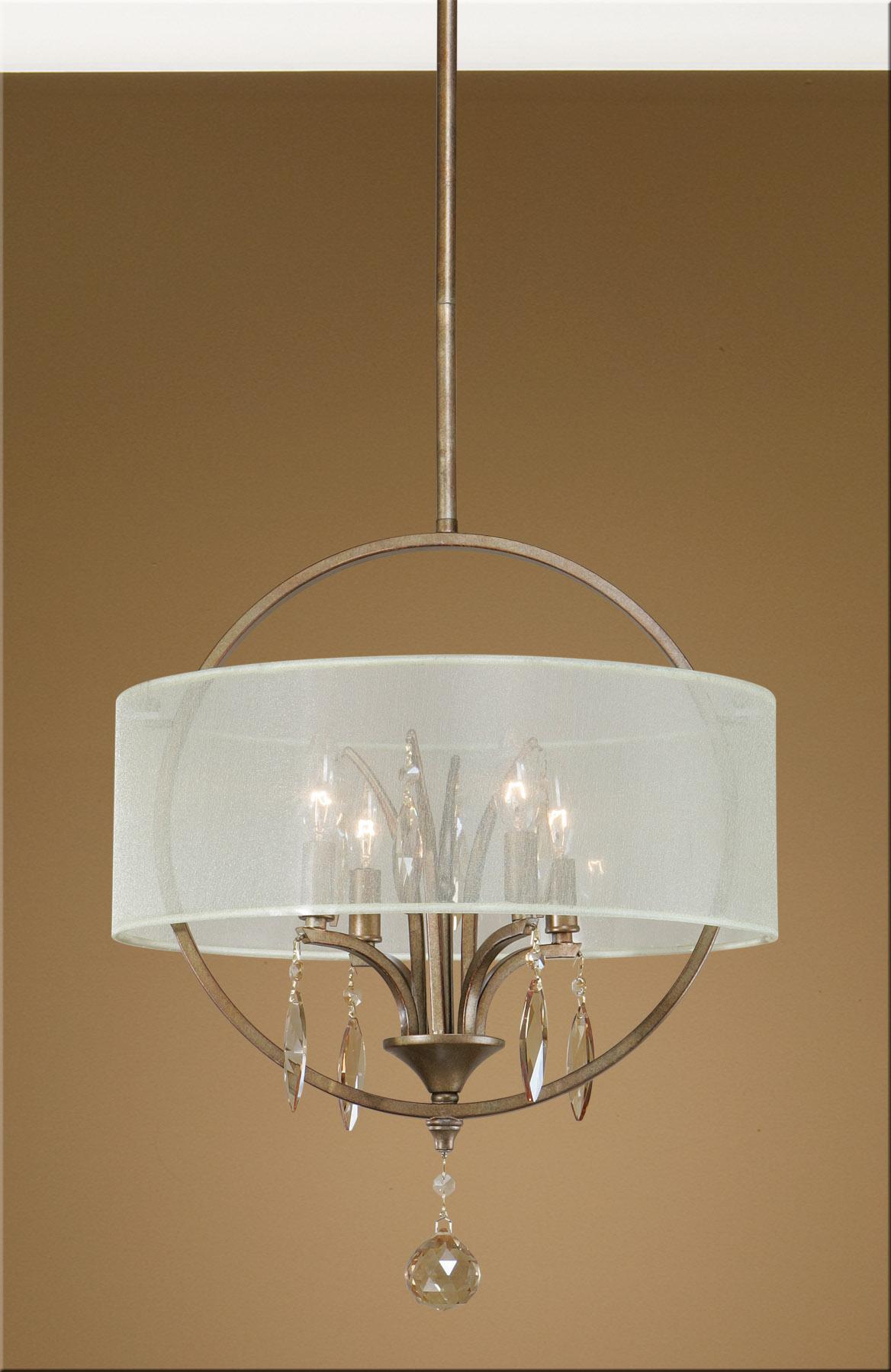 Uttermost Lighting Fixtures Alenya 4 Light Pendant